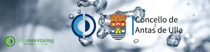Nueva instalación de Datawater en el Ayuntamiento de Antas de Ulla