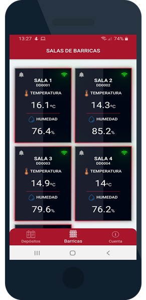App Datawine